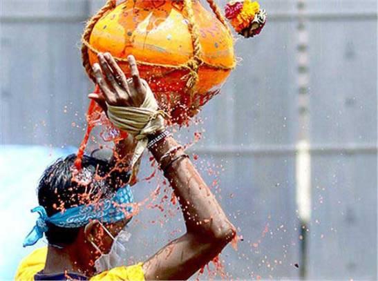 Dahi handi, janmasthami celebration in India, cheap flights to India, festivals of india