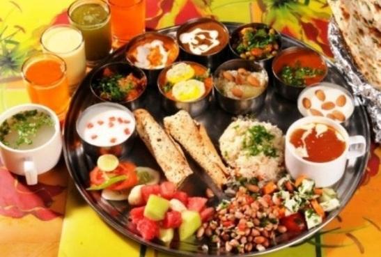 krishna bhog celebration of janmasthami in India