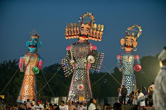 Dussehra in delhi, ramleela in delhi, cheap flights to India