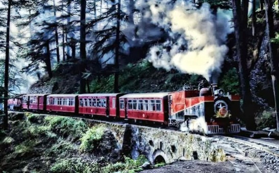 kalka shimla railway details, most beautiful mountain journeys in India, Indian railway tracks