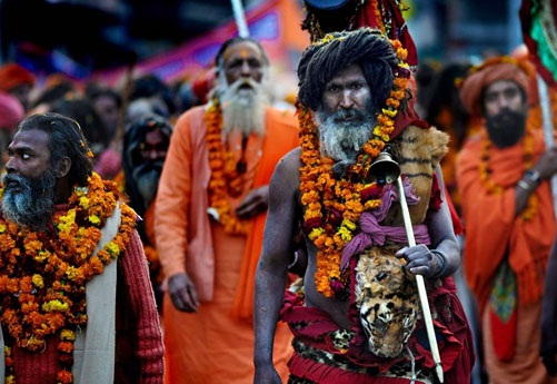 Kumbh mela festival India, Kumbh mela in California USA, Indian festivals in America