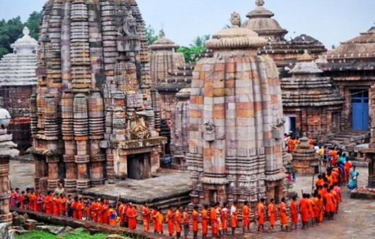 temples of Orissa, Lingraj Temple, best shiva temples in India