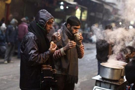 roadside tea stalls in India, tea and indian politics