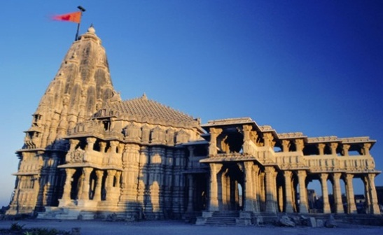 Somnath temple Gujarat, Hindu temples in North India, best shiva temples in India