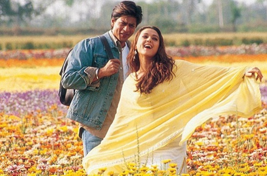yash chopra's movies of romantic travels, travel in romantic movies