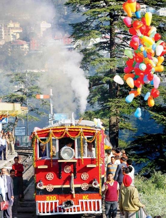 Shimla Kalka heritage track, shimla tourism in himachal pradesh, hill stations in himachal pradesh, cheap flights to India, Indian Eagle travel blog, mountain journeys in India