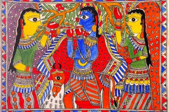 overview of madhubani painting, rural culture of India, Indian art and tradition
