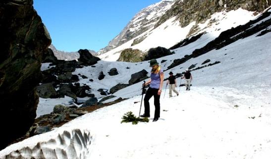 kashmir adventure tourism, things to do in J&K, trekking in kashmir