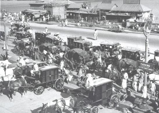 pictures of Calcutta in 1960s, transport in Calcutta in 1950s
